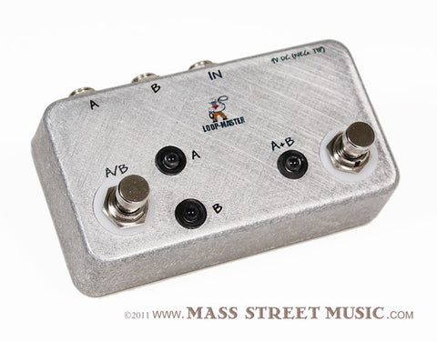Loop-Master Pedals - A/B/Y Pedal