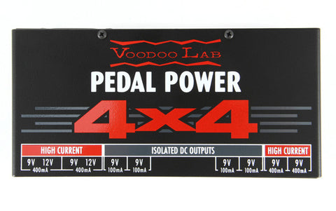 Voodoo Lab Power Supplies - Pedal Power 4X4
