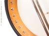 Ome Juniper 12 inch open back banjo -  metal dowel detail