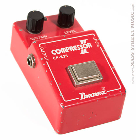 Ibanez CP-835 Compressor Pedal - angle