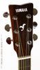 Yamaha FGX720 SCA Acoustic guitar burst finish - headstock