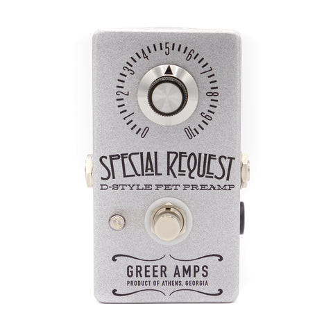 Greer Amps - Special Request Boost