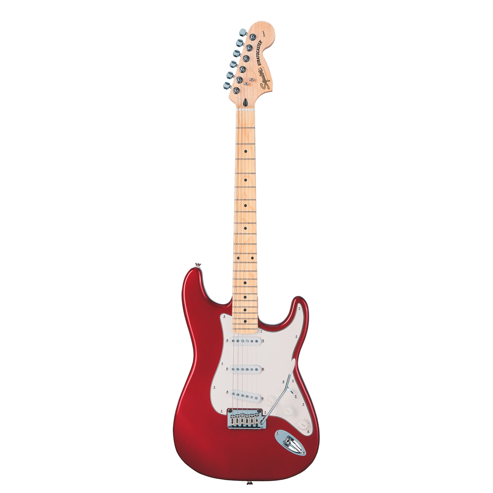 squier standard stratocaster candy apple red mass street music store. Black Bedroom Furniture Sets. Home Design Ideas