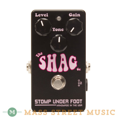 Stomp Under Foot - The Shag Germanium Fuzz - Front