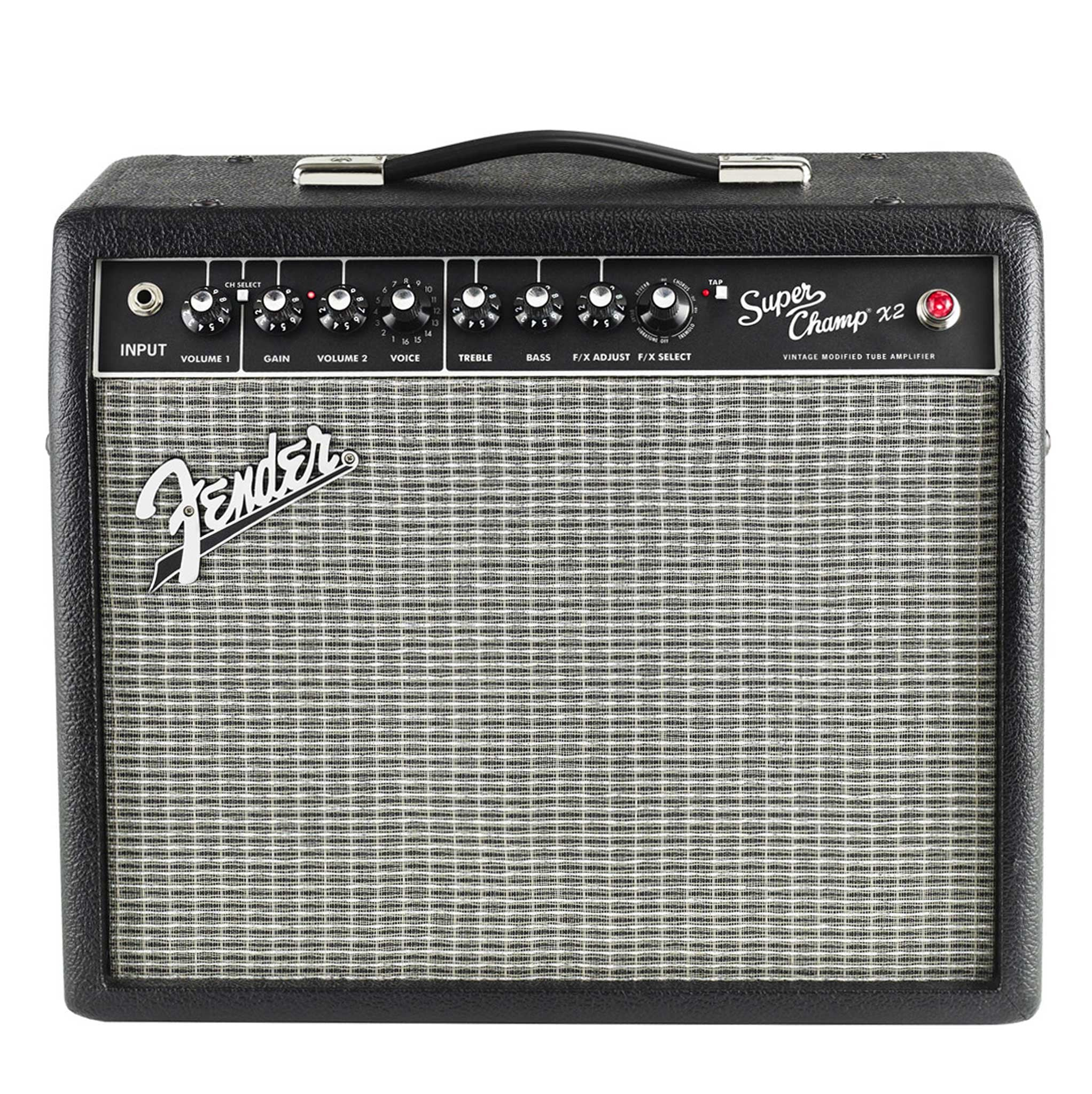 fender super champ x2 15 watt tube amp with effects and usb mass street music store. Black Bedroom Furniture Sets. Home Design Ideas