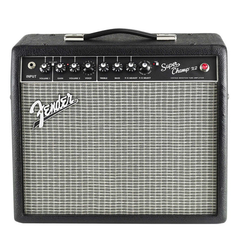 Fender Super Champ X2 with effects