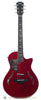 Taylor T5z Pro electric acoustic guitar - red - front