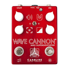 Caroline Guitar Effect Pedals - Wave Cannon MKII Superdistorter