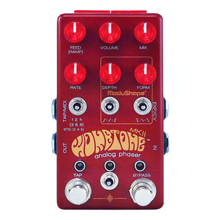 Chase Bliss Audio - Wombtone Analog Phaser - Top