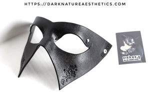 """Deep Abyss"" Abel Leather Mask"