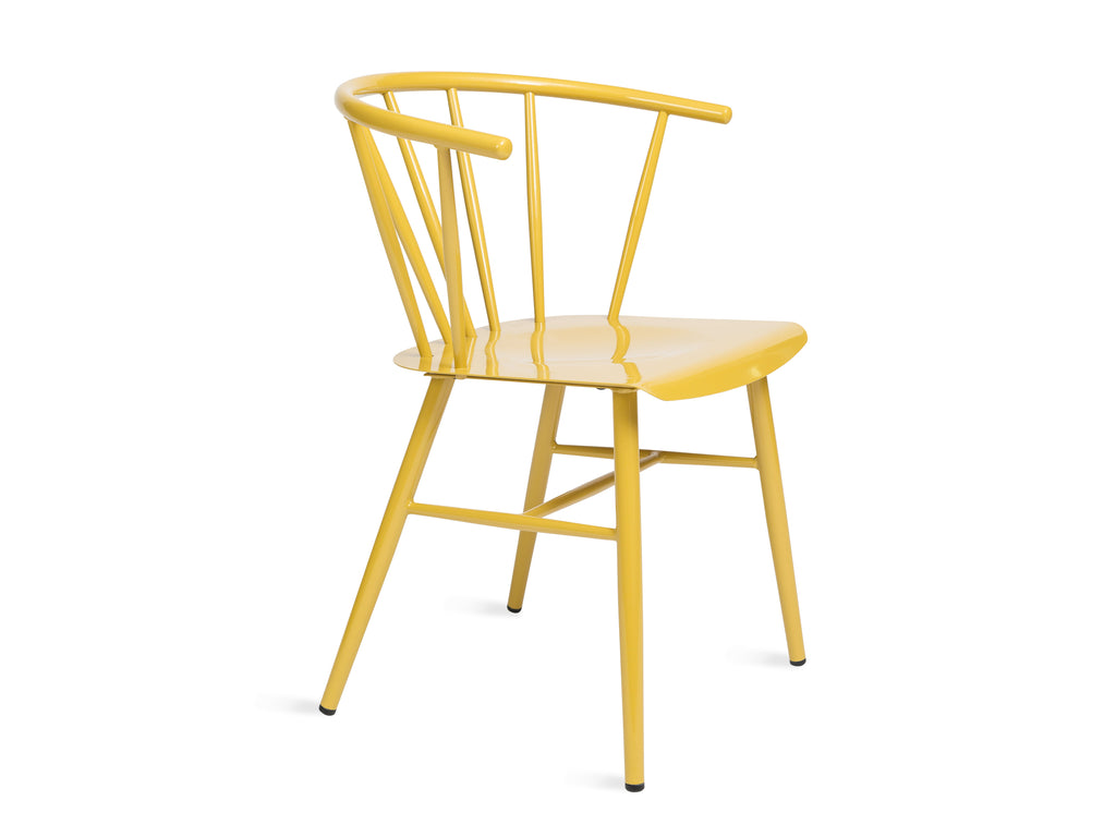 Glossy Yellow Chair