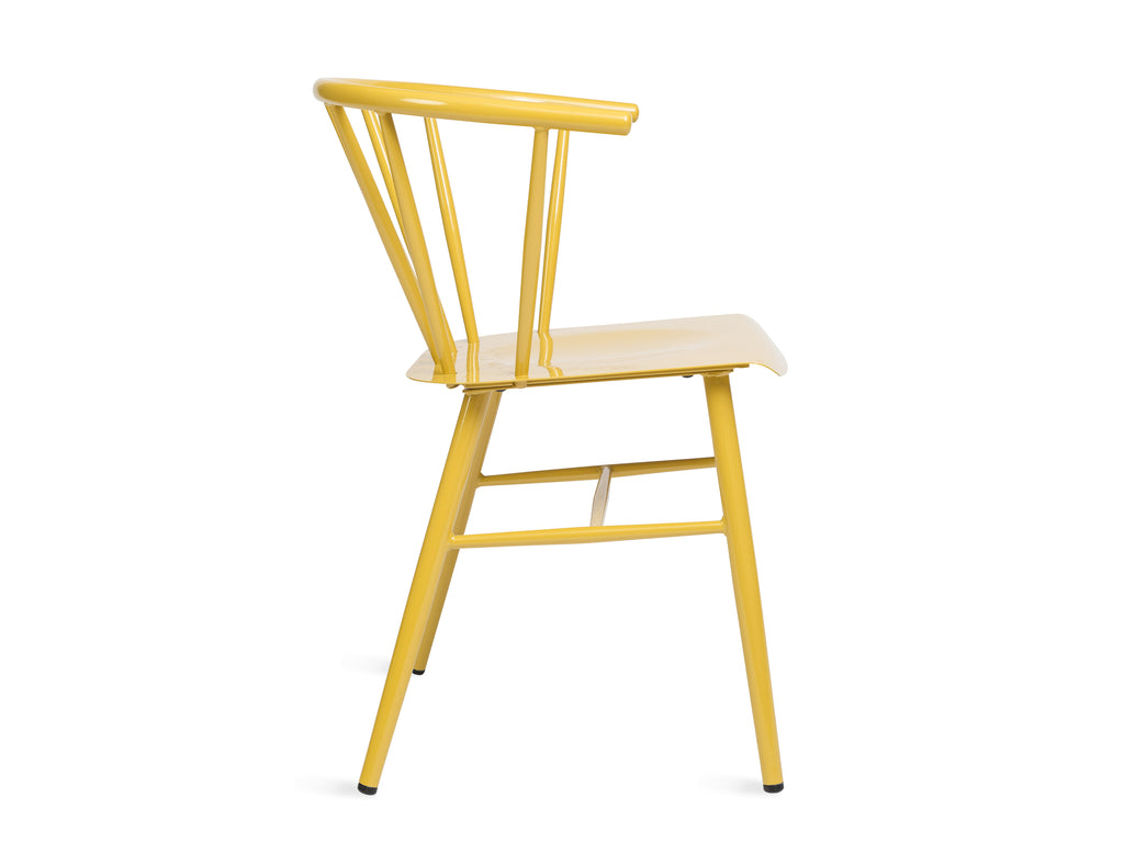 Glossy Yellow Chair - The Everset