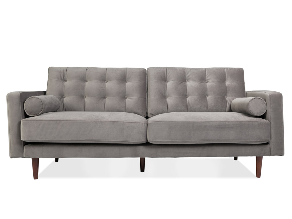 Velvet Tufted Sofa - The Everset