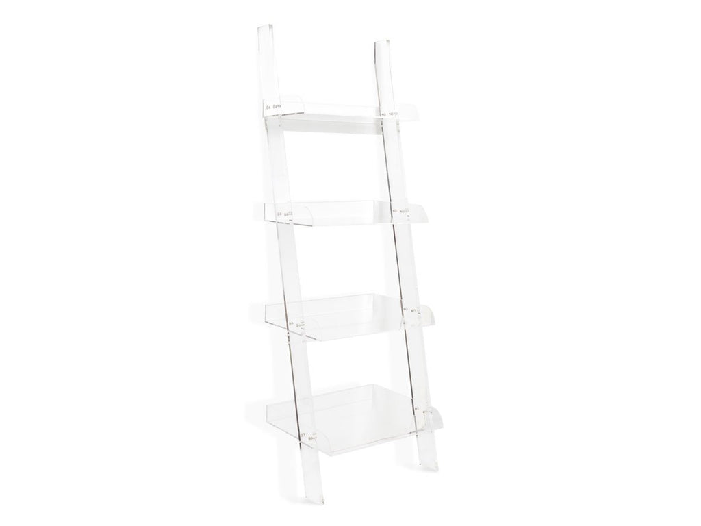 Clear Leaning Shelf