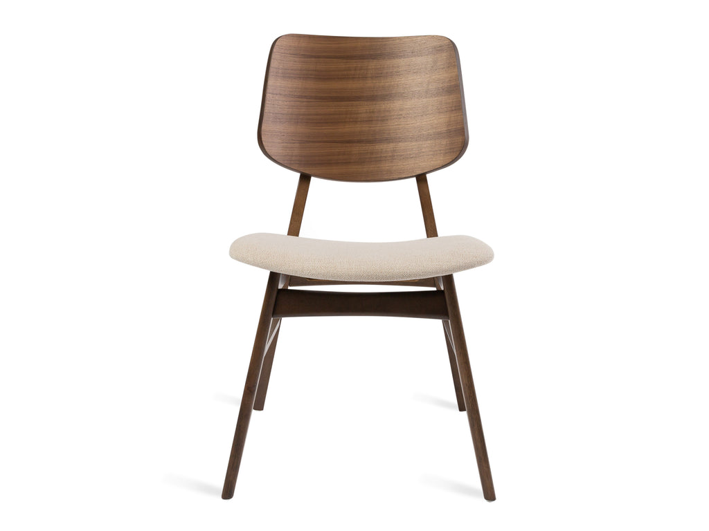Curved Padded Chair - The Everset