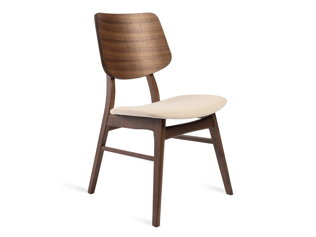 Curved Padded Chair