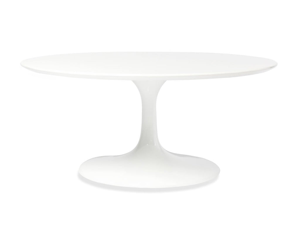 Shiny White Table - The Everset