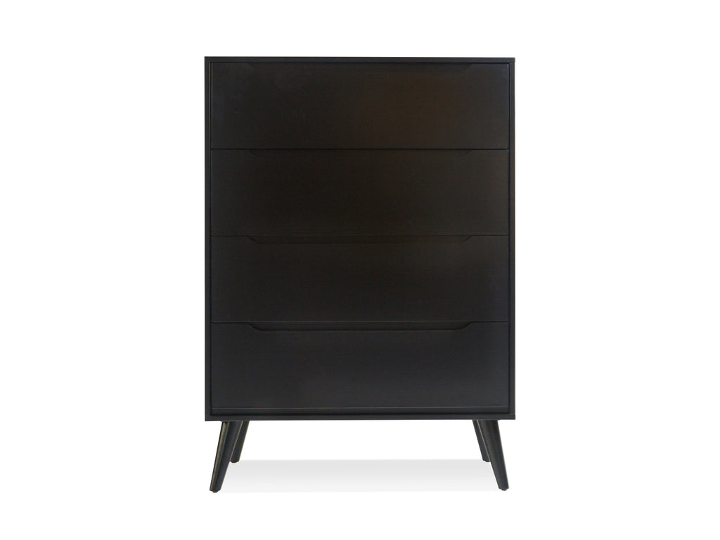 Tall Black Dresser - The Everset