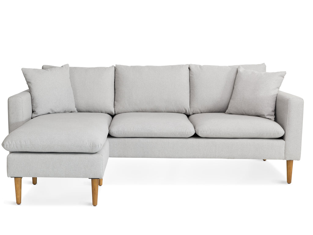 Reversible Flannel Sectional