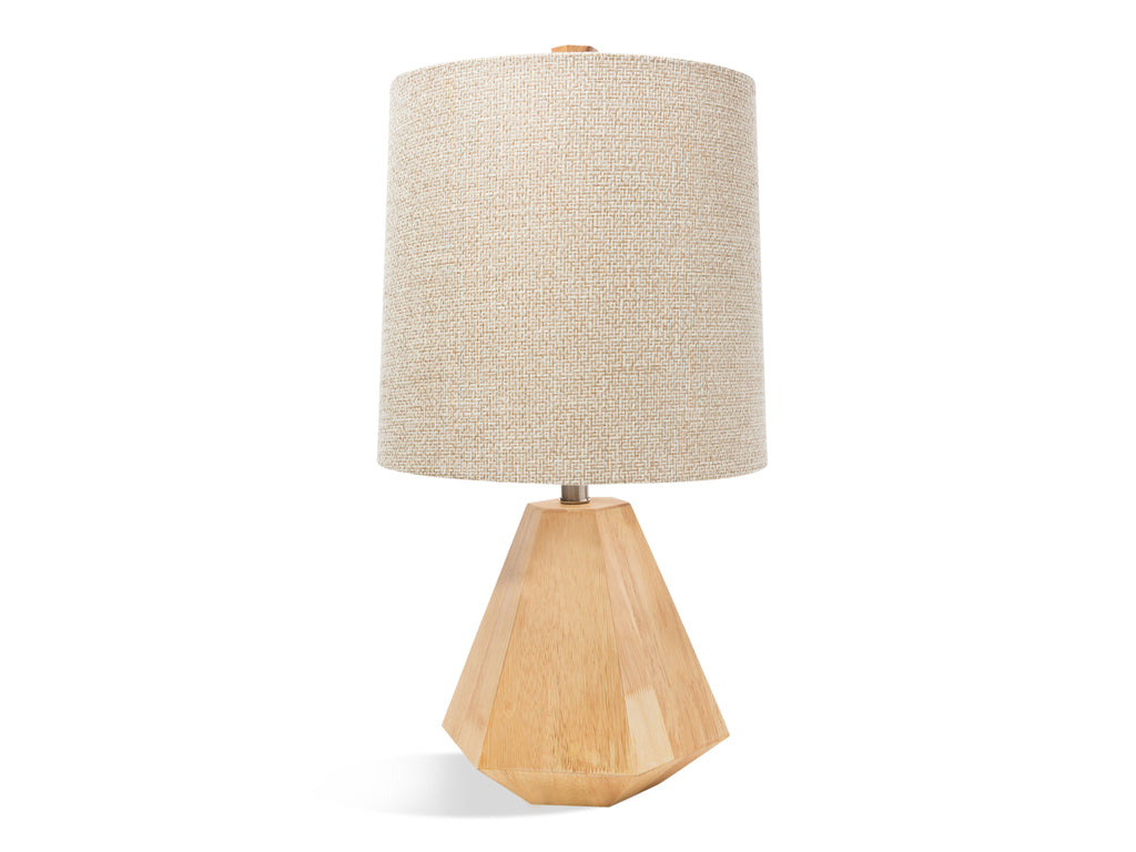 Wood Geometric Lamp - The Everset