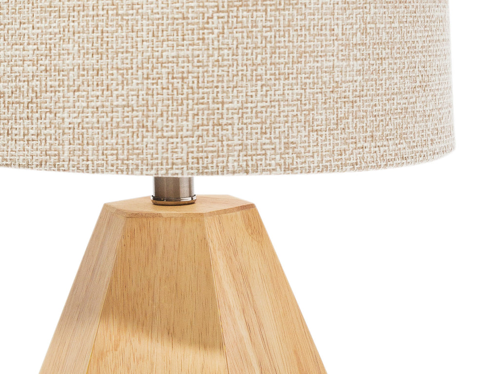 Wood Geometric Lamp