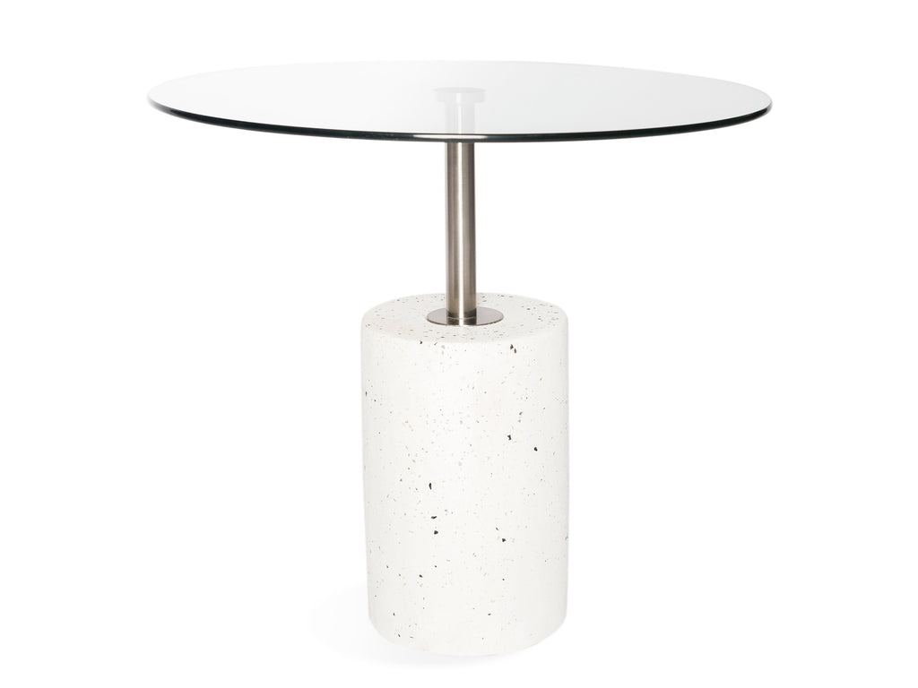 Glass Stone Table - The Everset