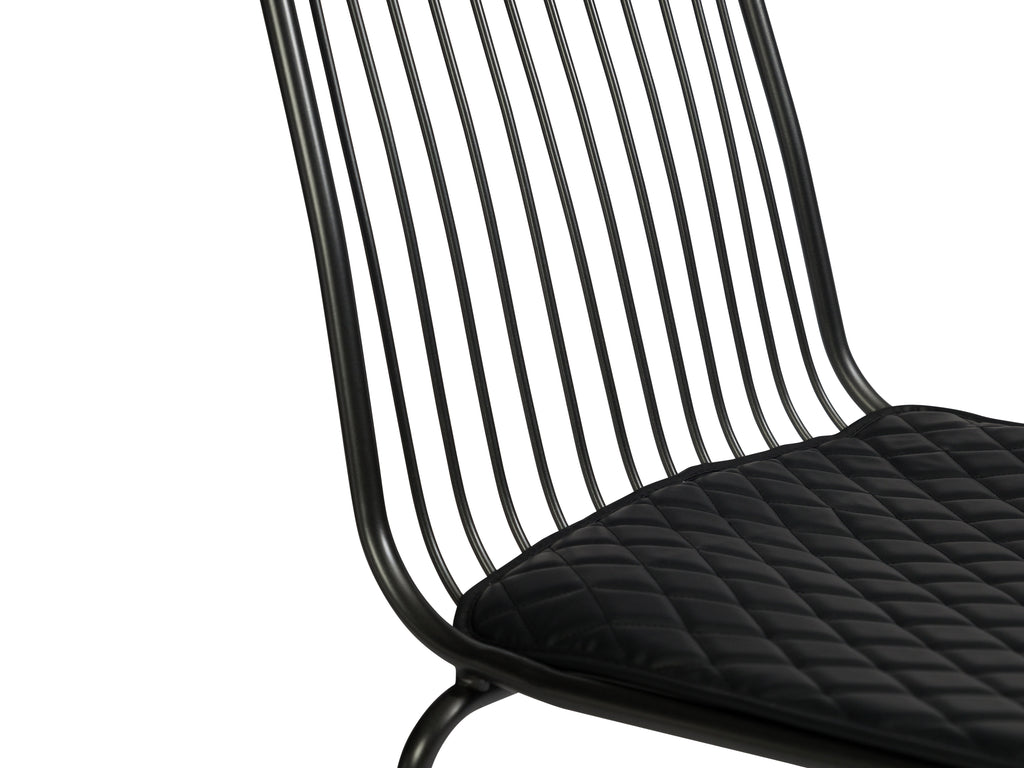 Metal Padded Chair