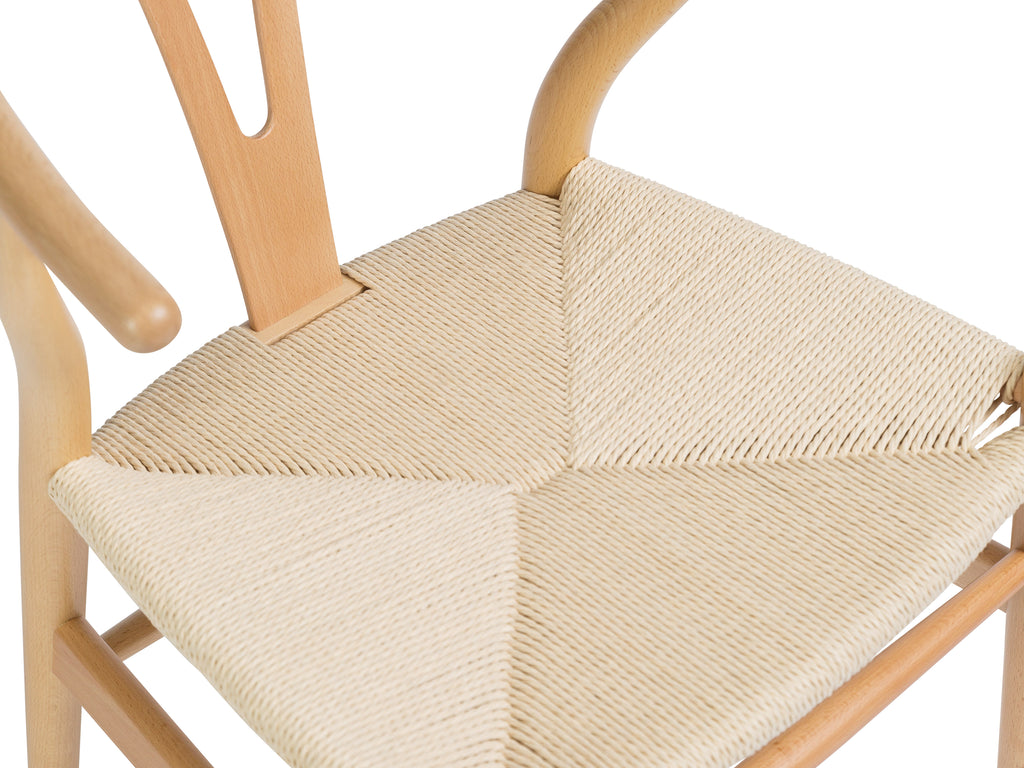 Woven Curved Chair - The Everset