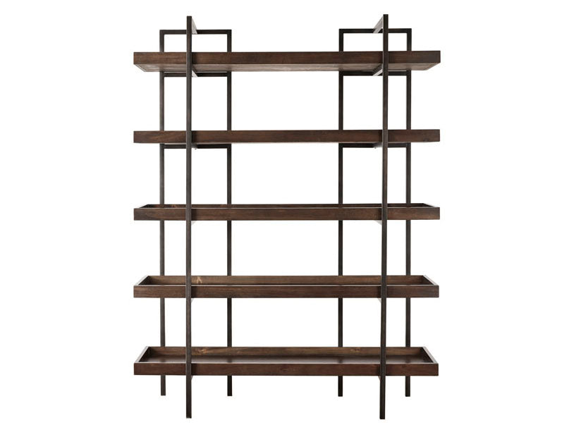 Open Wooden Shelf