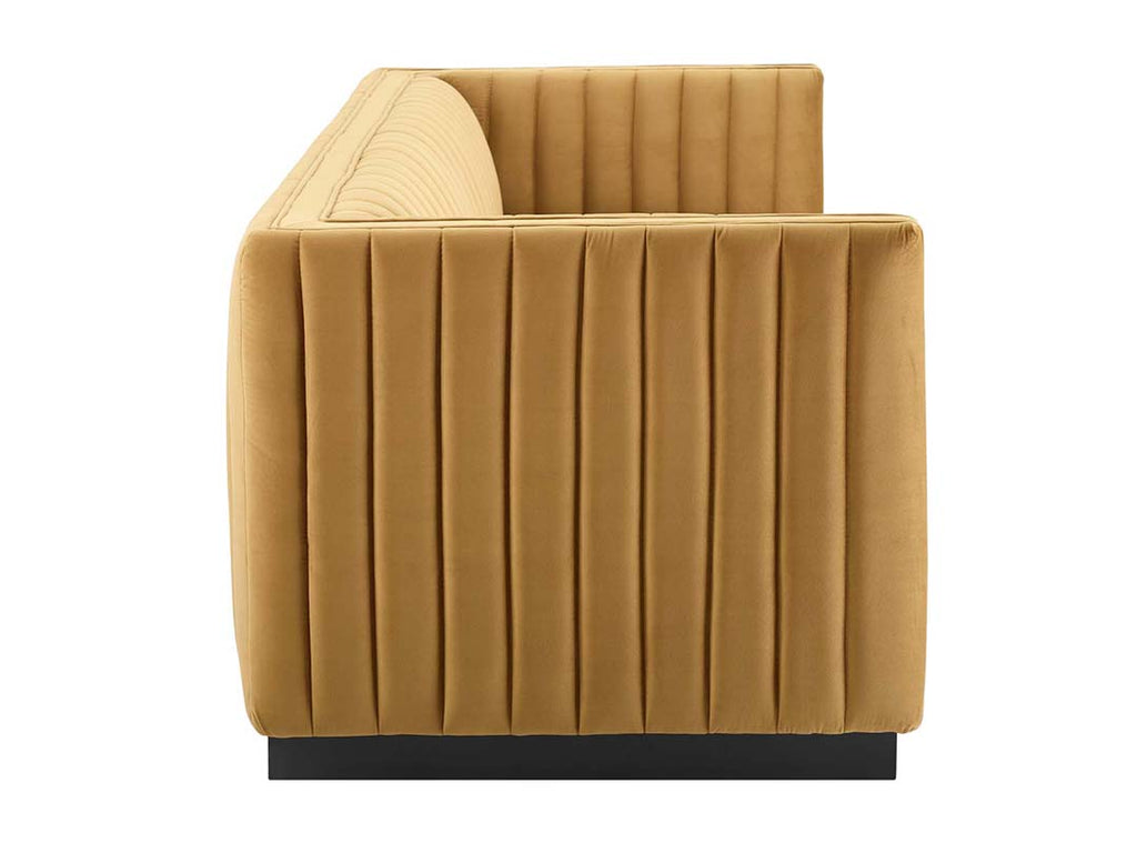 Chic Channeled Sofa