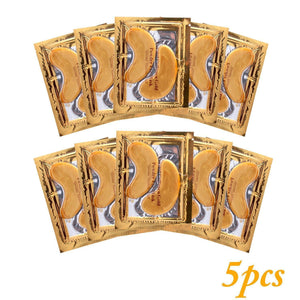 24k Gold Gel Eye Mask Eyelid Patch Anti Wrinkle Eye Care gold - MyShopSpot