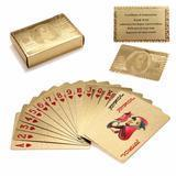 24K GOLD-PLATED PLAYING CARDS WITH CASE - MyShopSpot