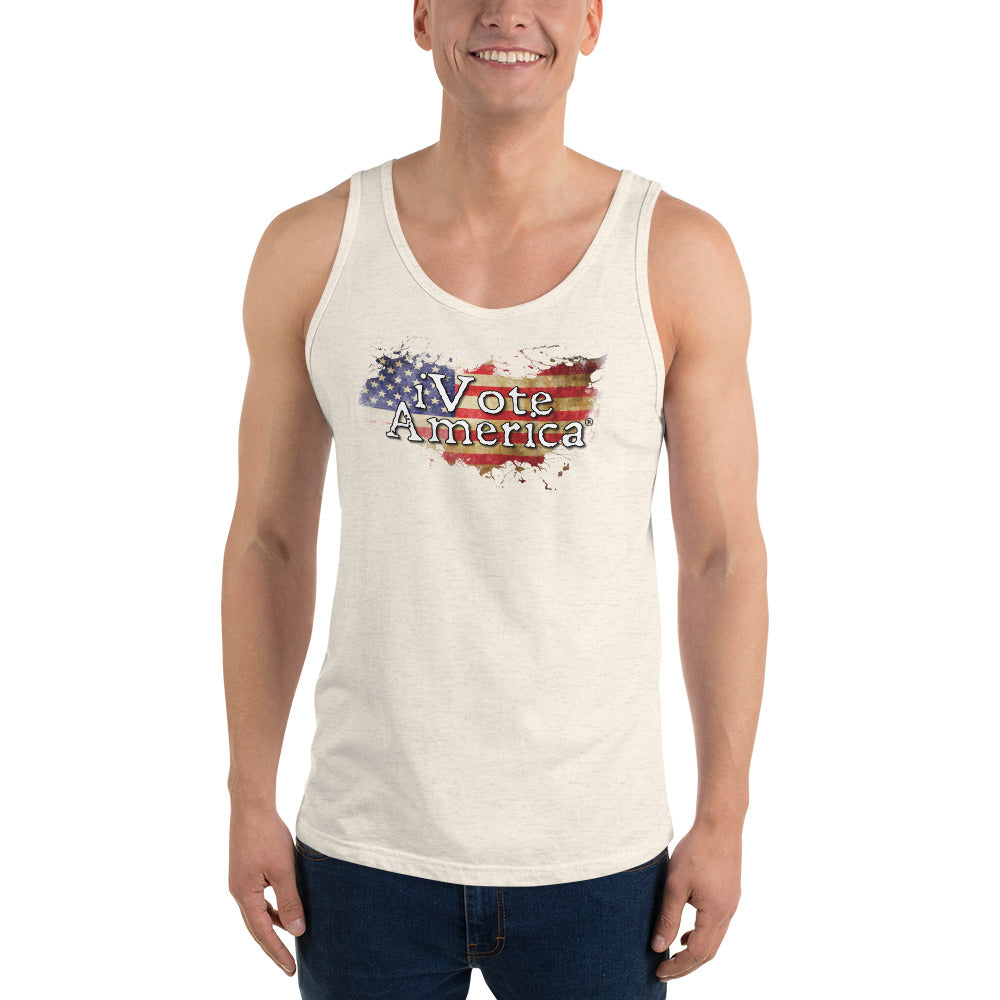 iVoteAmerica Flag Tank Top