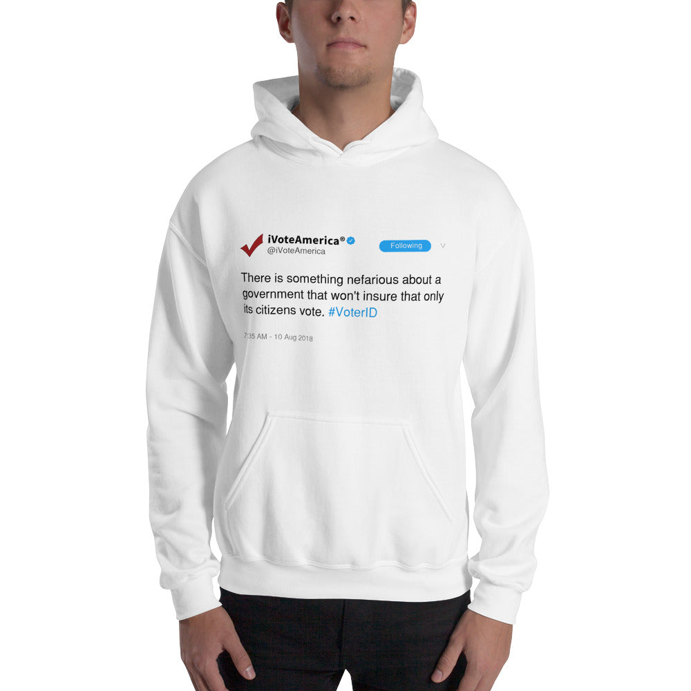 Tweet ID Hooded Sweatshirt