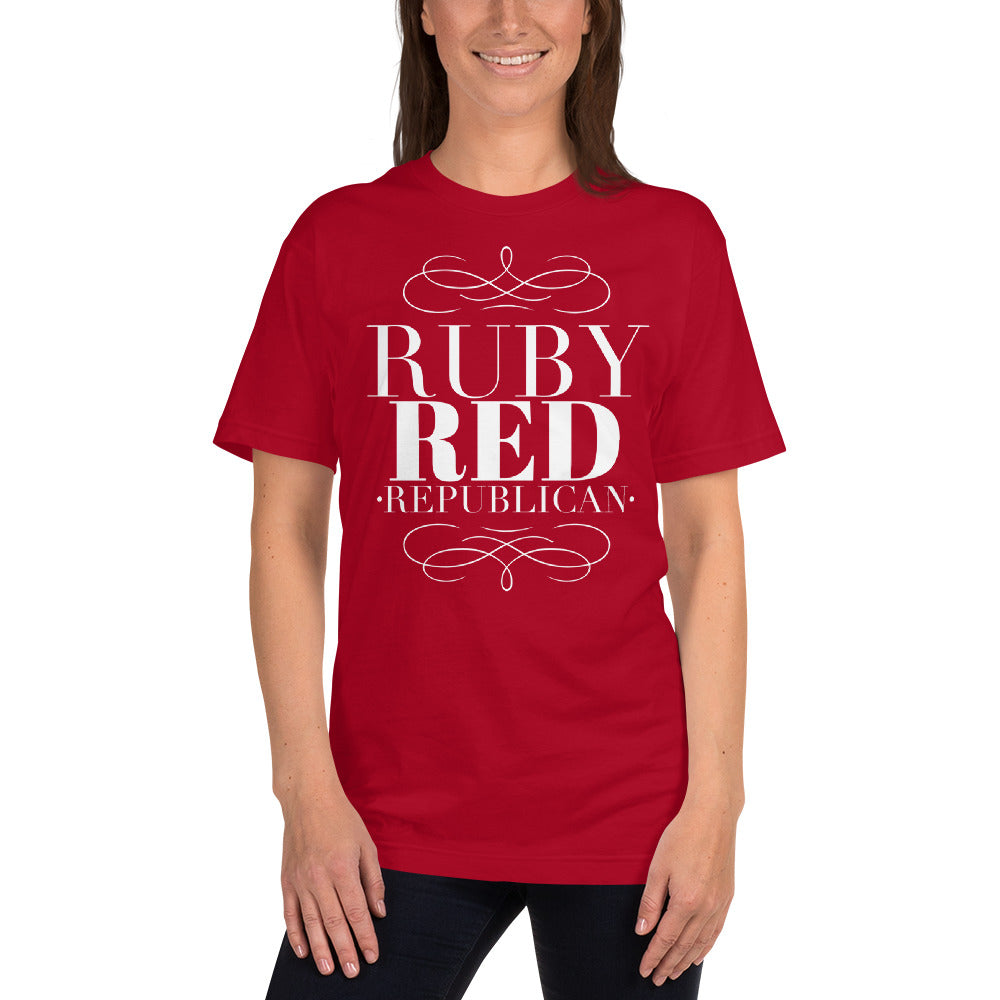 Women's Ruby Red Republican T-Shirt