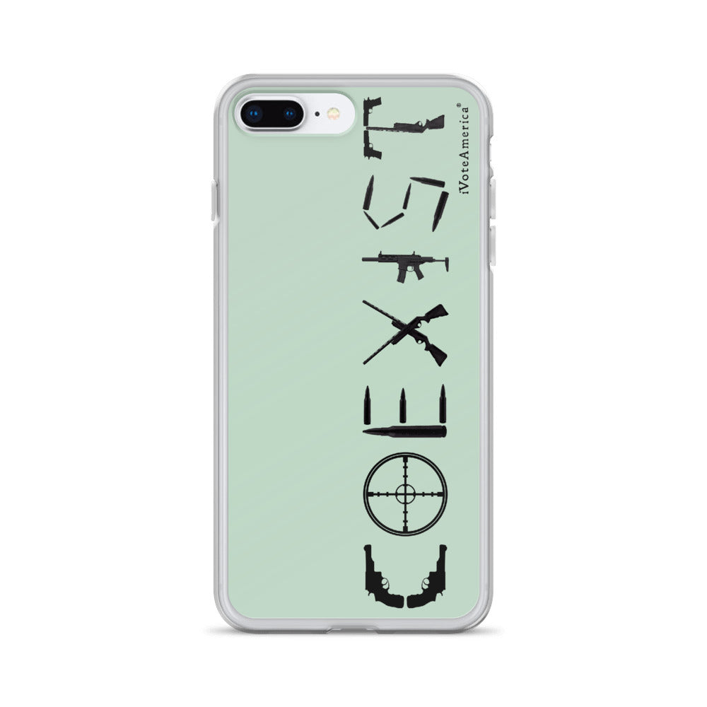 Coexist iPhone Case