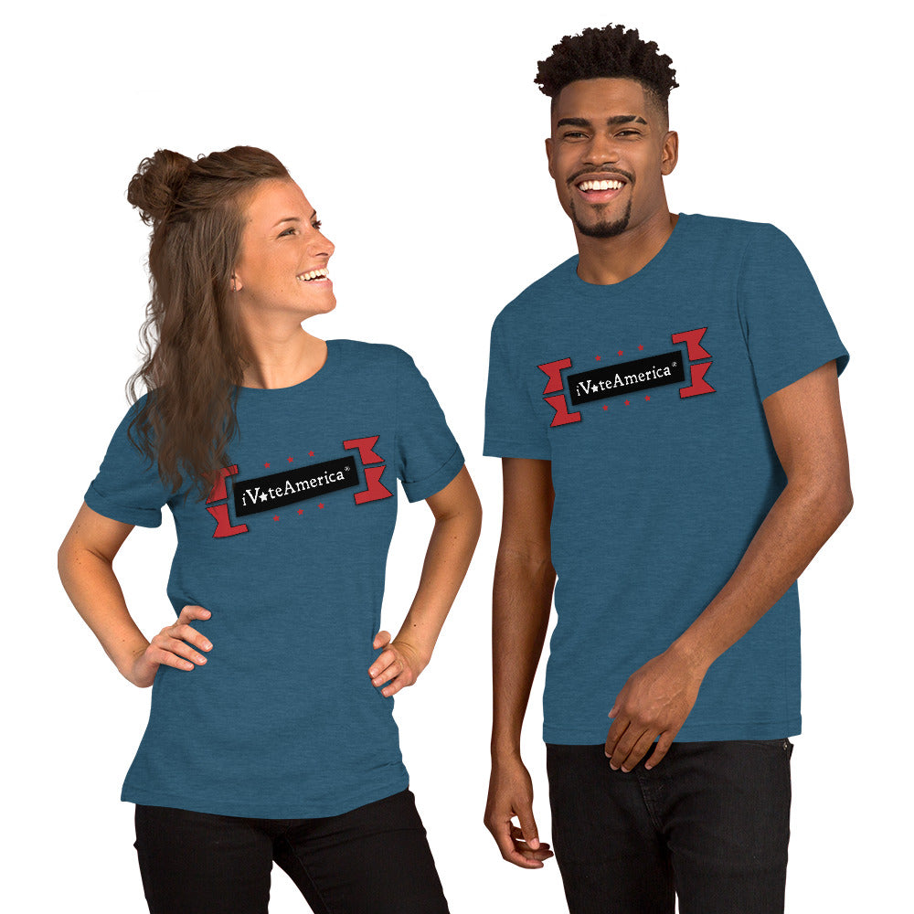 Retro iVoteAmerica Short-Sleeve Unisex T-Shirt