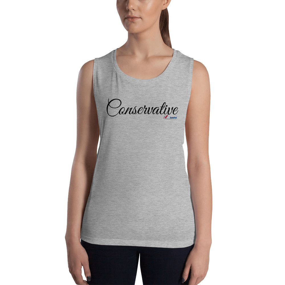 Conservative Ladies' Muscle Tank