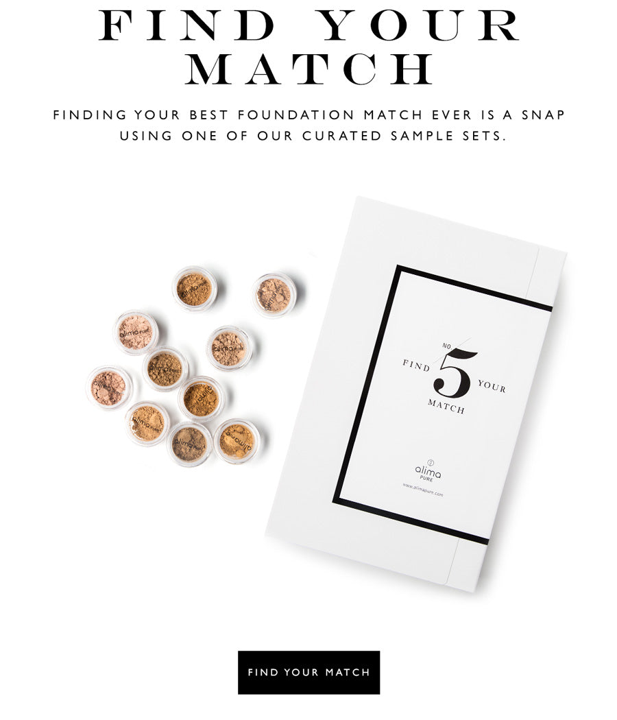 Find Your Match: Finding your best Foundation match ever is a snap  using one of our curated sample sets.