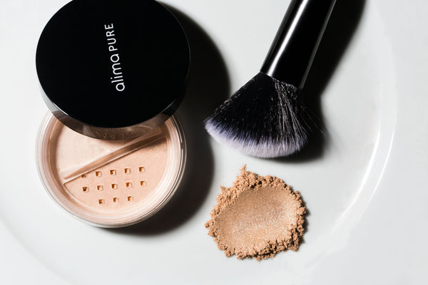 Alima Pure cruelty free sculpting makeup brush