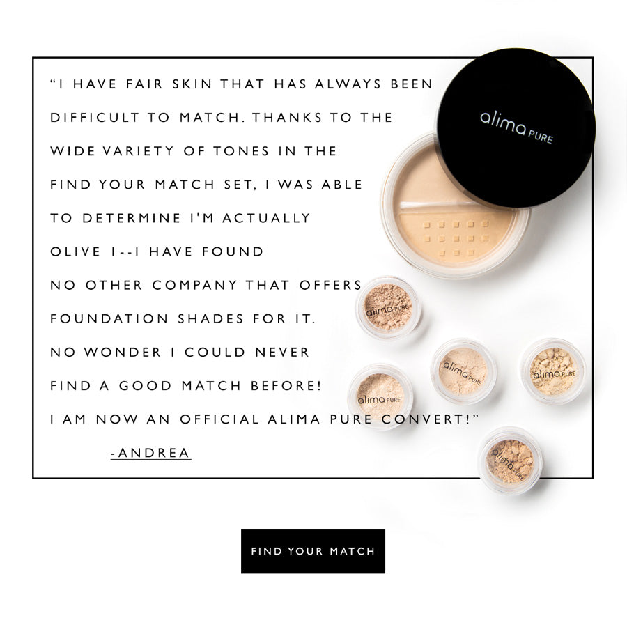 How to find your foundation match and find your undertone