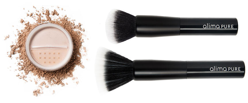 Bronzer and Brushes