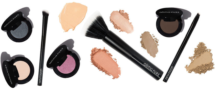 Brush and Eyeshadow Compacts
