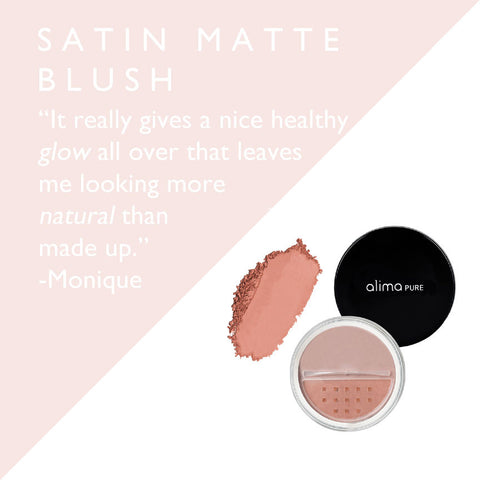 Satin Matte Blush Review