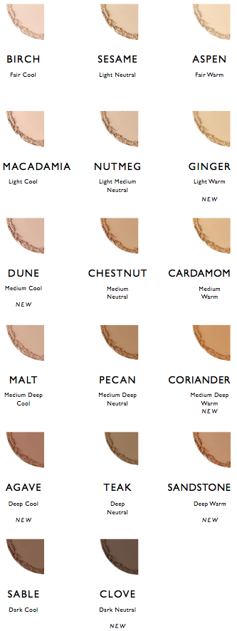 Pressed Foundation Shades