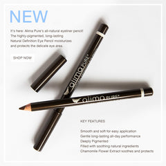Introducing Natural Definition Eye Pencil in Coffee