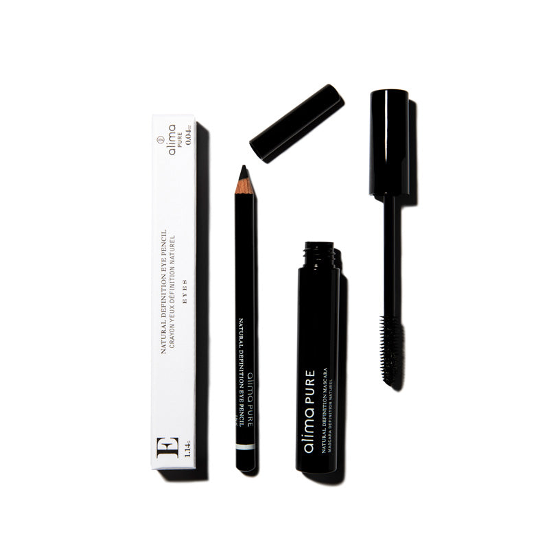 The Eye Essentials Set | Natural Definition Mascara in Black & Natural Definition Eye Pencil in Ink