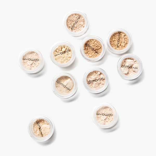 Satin Matte Foundation Samples all