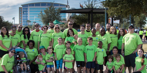 Ridge Zeller Autism Walk Team