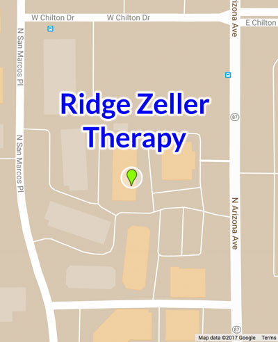 Map to Ridge Zeller Therapy
